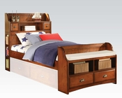 Acme Antique Oak Bed Brandon AC11010BED