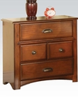 Acme Antique Oak Nightstand Brandon AC11013