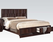 Acme Bed in Walnut Travell AC20520BED