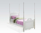 Acme Bed w/ Heart-Shaped Design Sweetheart AC30170BED