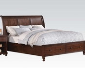 Acme Bed w/ Storage Aceline AC21380BED