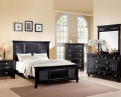 Acme Bedroom Set Merivale Black AC22440SET