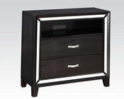 Acme Black Crocodile TV Console Elberte AC22797