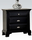 Acme Black Nightstand AC10433