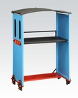Acme Blue/ Red & Black Desk Tobi AC37562