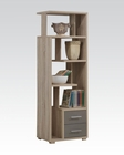 Acme Bookcase w/ 2 Drawers AC92094