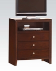 Acme Brown Cherry TV Console Ilana AC20407