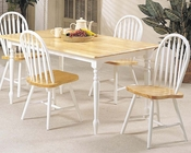 Acme Casual Dining Set Farmhouse AC02247NW-SET