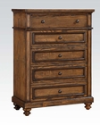 Acme Chest in Oak Finish Arielle AC24446