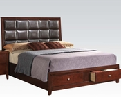 Acme Contemporary Bed Ilana AC24590BED