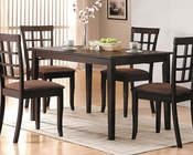 Acme Contemporary Dining Set Cardiff AC06850SET