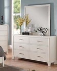 Acme Cream Dresser w/ Mirror Tyler AC22545DM