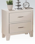 Acme Cream Nightstand Tyler AC22543