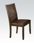 Acme Dark Walnut Finish Side Chair Charissa AC70752 (Set of 2)