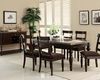 Acme Dining Set w/ Turning Leg Table Bandele AC70380SET