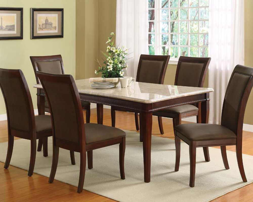 Marble Top Dinette Sets Migrant Resource Network - Marble top circle dining table
