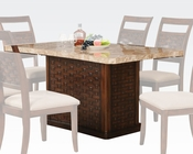 Acme Dining Table in Contemporary Style Maite AC71510