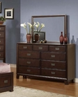 Acme Dresser w/ Mirror in Traditional Style Bellwood AC00165DM