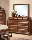 Acme Dresser w/ Mirror in Antique Style Konane AC20458DM