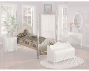 Acme Furniture Bed in Pearl White AC01000TBED