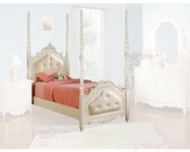 Acme Furniture Bed in Pearl White AC11000TBED