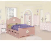 Acme Furniture Bed in Pink AC00735TBED