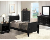 Acme Furniture Bedroom Set in Black AC00420TSET