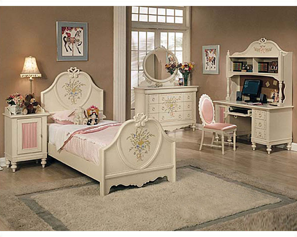 acme furniture bedroom sets.  Acme Furniture Bedroom Set in Cream AC02665TSET
