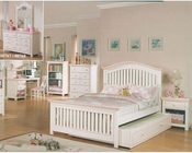 Acme Furniture Bedroom Set in Cream and Peach AC00755TSET