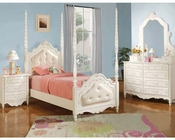 Acme Furniture Bedroom Set in Pearl White AC11000TSET