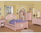 Acme Furniture Bedroom Set in Pink AC00735TSET