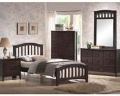 Acme Furniture Bedroom Set in Walnut AC04980TSET