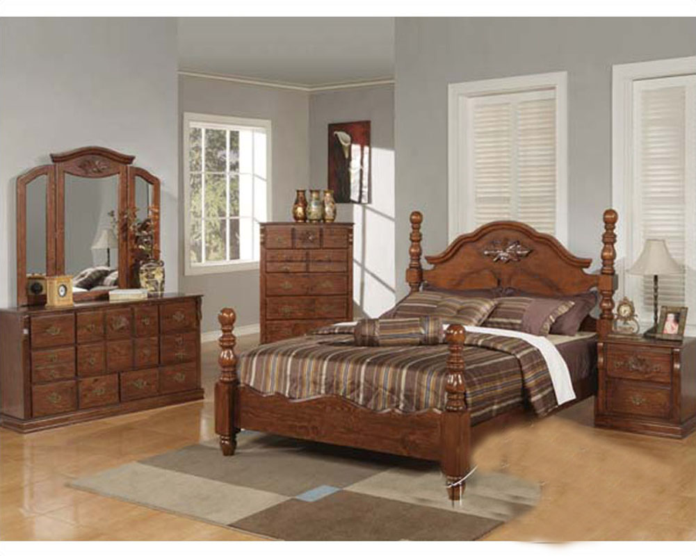 acme furniture bedroom sets.  Acme Furniture Bedroom Set in Walnut Finish AC01720ASET