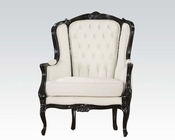 Acme Furniture Black Frame Accent Chair AC59145