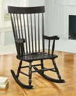 Acme Furniture Black Rocking Chair AC59297