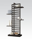 Acme Furniture Bookcase in Cappuccino AC92091