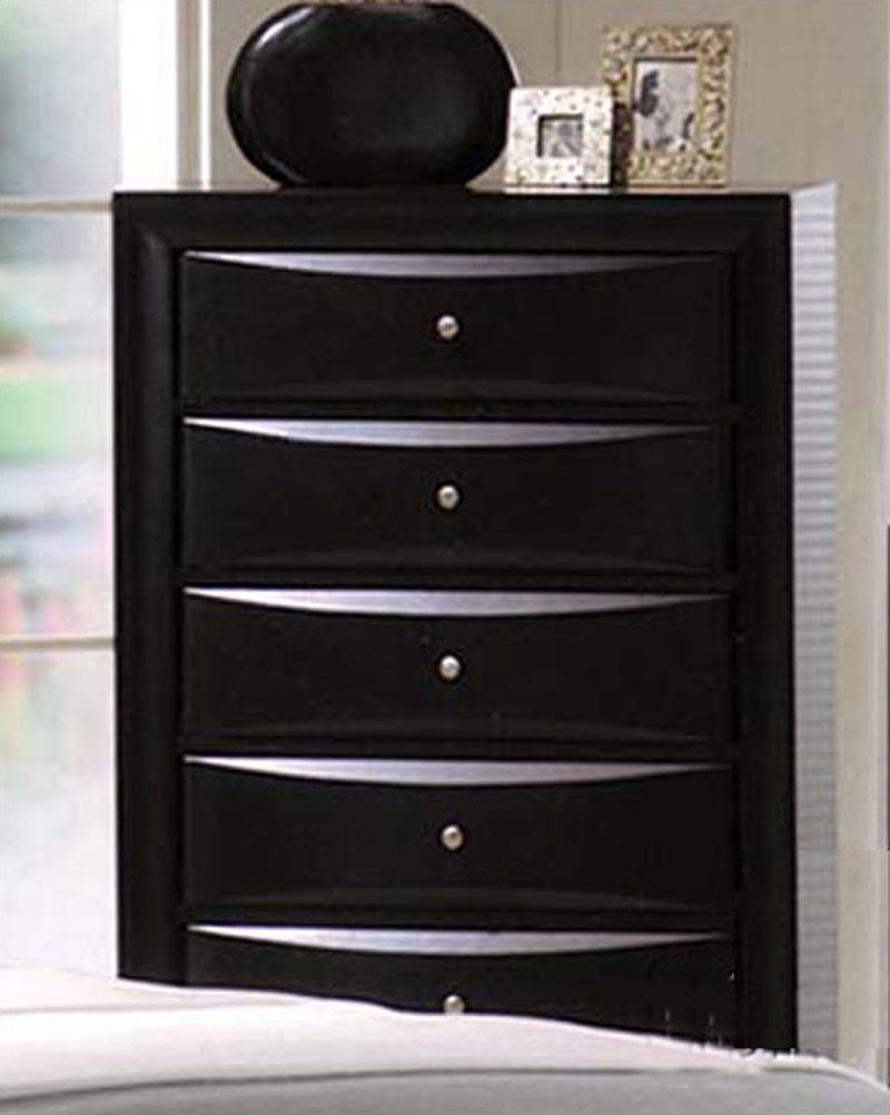 Acme furniture chest in black ac04166 for Furniture indiana pa