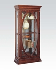 Acme Furniture Curio in Cherry AC90052