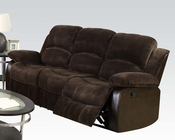Acme Furniture Dark Brown Sofa Masaccio AC50470