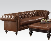 Acme Furniture Dark Brown Sofa Shantoria AC51315