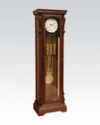 Acme Furniture Dark Walnut Grandfather Clock AC97077
