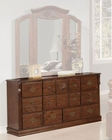 Acme Furniture Dresser in Walnut Finish AC01725A