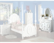 Acme Furniture Dresser with Jewelry Mirror in White AC01664-5