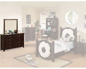 Acme Furniture Dresser with Oval Mirror in Espresso AC12011-2