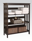 Acme Furniture Espresso Bathroom Rack AC92100