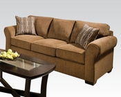 Acme Furniture Fabric Sofa Torilyn Walnut AC51235