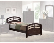 Acme Furniture Full Bed in Dark Walnut AC14980TBED