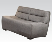 Acme Furniture Gray Linen Sofa Kainda AC51720
