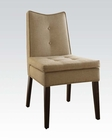 Acme Furniture Linen Accent Chair AC59158 (Set of 2)