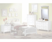 Acme Furniture Mirror in White AC09155